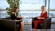 Nemtsova. Interview mit Ljubov Sobol, die Russische Politikerin