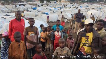 Kongo Hunderttausende auf Flucht vor Gewalt (Imago Images/Xinhua/A. Uyakani)