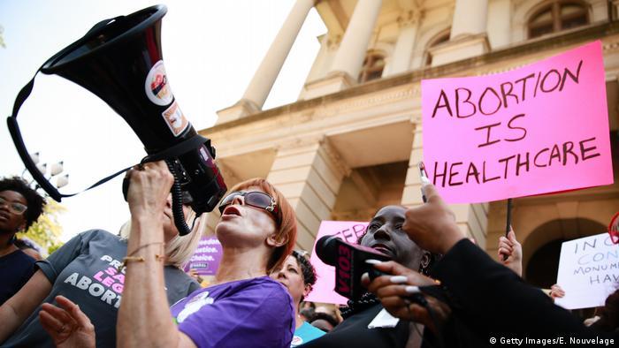 USA Georgia State | Protest für Recht auf Abtreibung - u.a. Alabama & Georgia