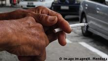 May 30, 2017 - Manila, Philippines - A man holds a cigarette in San Pablo City, south of Manila, Philippines in this photo taken on May 30, 2017. World No Tobacco Day is an annual event by the World Health Organization held to highlight the health and additional risks associated with tobacco use, and to advocate for effective policies aimed at reducing tobacco consumption. This year s theme, Tobacco - a threat to development, aims to demonstrate the threats that the tobacco industry poses to the sustainable development of all countries. Manila Philippines PUBLICATIONxINxGERxSUIxAUTxONLY - ZUMAn230 20170530_zaa_n230_366 Copyright: xRichardxJamesxMendozax May 30 2017 Manila Philippines a Man holds a Cigarette in San Pablo City South of Manila Philippines in This Photo Taken ON May 30 2017 World No Tobacco Day IS to Annual Event by The World Health Organization Hero to Highlight The Health and Additional Risks Associated With Tobacco Use and to ADVOCATE for effective Policies aimed AT Reducing Tobacco Consumption This Year S Theme Tobacco a Threat to Development aims to demonstrate The Threats Thatcher The Tobacco Industry Poses to The Sustainable Development of All Countries Manila Philippines PUBLICATIONxINxGERxSUIxAUTxONLY 20170530_zaa_n230_366 Copyright xRichardxJamesxMendozax
