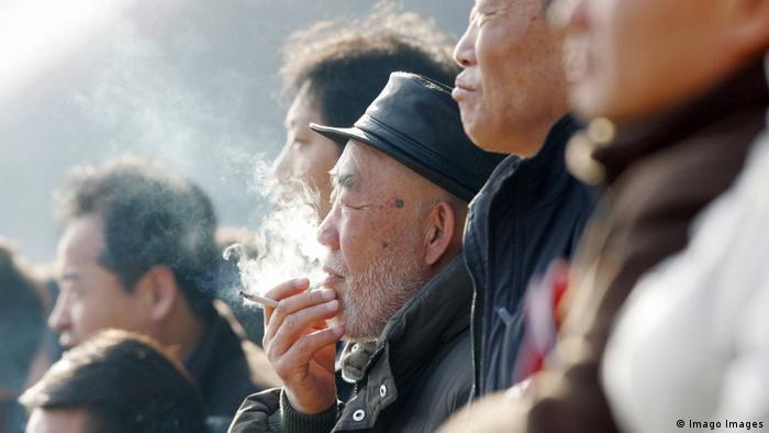 Tabakkonsum in Südkorea