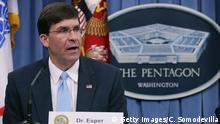 USA Mark Esper soll neuer Verteidigunsminister werden