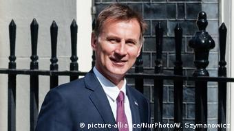 England Außenminister Jeremy Hunt (picture-alliance/NurPhoto/W. Szymanowicz)
