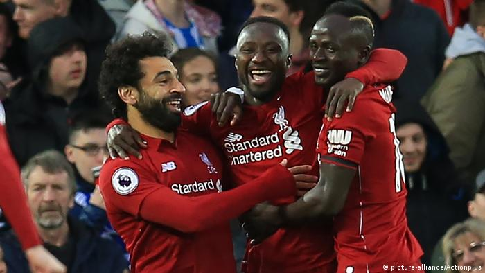 Großbritannien Premier League | Mohamed Salah & Sadio Mane (picture-alliance/Actionplus)