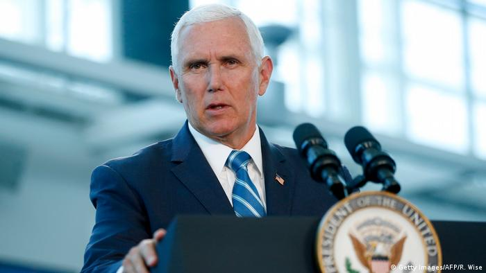 USA Vizepräsident Mike Pence in Miami (Getty Images/AFP/R. Wise)