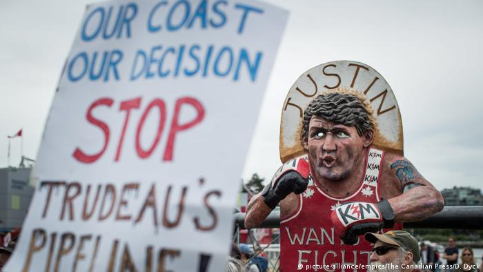Demonstrations against the expansion of the Trans Mountain pipeline