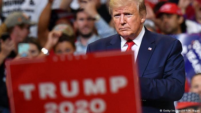 Trump startet offiziell US-Wahlkampf für 2020 (Getty Images/AFP/M. Ngan)