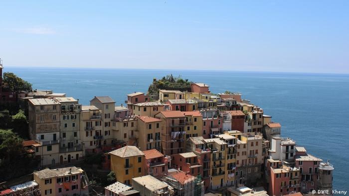 Vernazza: One of the five villages in Cinque Terre (DW/E. Kheny)