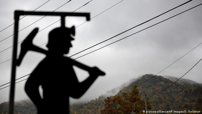 A coal miner in Kentucky, United States, photographed in 2014