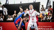 Basketball Damen-Nationalmannschaft Iran – Dreierteam (DW/Farid Ashrafian)
