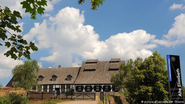 Gebäude der TU Bergakademie Freiberg (picture-alliance/dpa/W. Thieme)