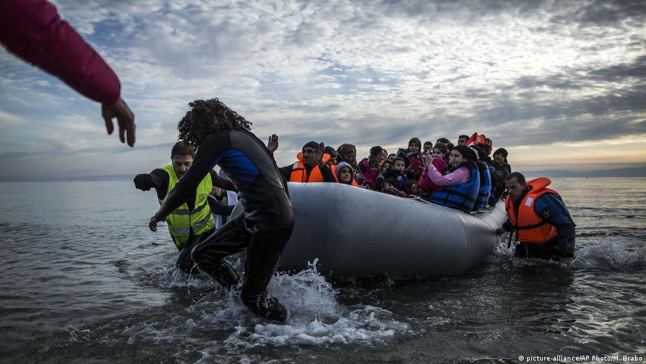 Griechenland Lesbos | Freiwillige helfen Flüchtlingen
