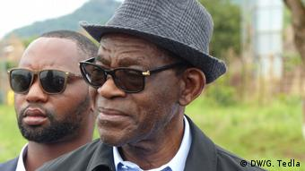 Äthiopien Assosa   Teodoro Obiang Nguema Präsident von Equatorial Guinea Besucht Flüchtlingscam Tsore