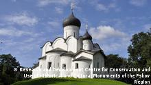 UNESCO Welterbe 2019 Kirche St. Basil in Pskow, Russland