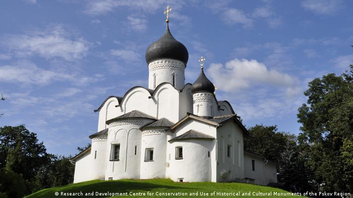 Kirche St. Basil in Pskow, Russland (Research and Development Centre for Conservation and Use of Historical and Cultural Monuments of the Pskov Region)