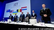 Niederlande Pk der internationalen Ermittler zum Abschuss Flug MH17
