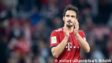 Bundesliga - Mats Hummels beim Spiel Bayern München v Borussia Dortmund