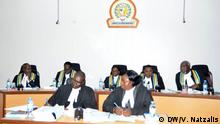 East African Court of Justice in Arusha Tanzania in session during the hearing of the case against Tanzania political parties bill.