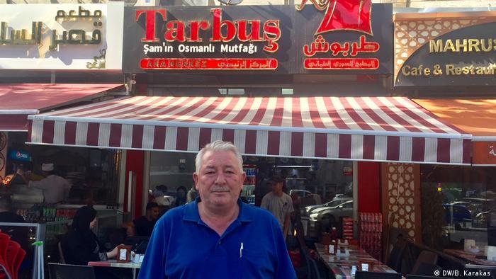Türkei | Nizar Bitar | Restaurant (DW/B. Karakas )