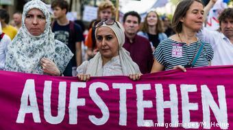 Акция протеста против исламофобии в Берлине (фото из архива)