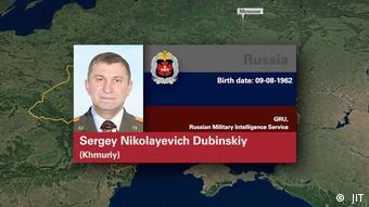 Обвиняемый по делу о сбитом MH17: генерал-майор Сергей Дубинский (по кличке Хмурый)
