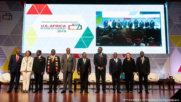 Gipfeltreffen USA-Afrika, Maputo, Mosambik (Presidência da República de Moçambique.)