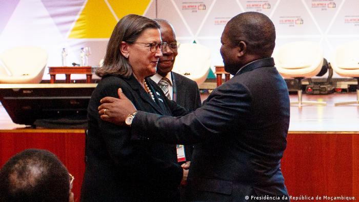 (Presidência da República de Moçambique.)