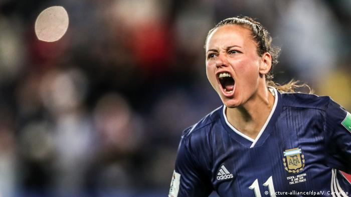 Soccer 2019: Womens World Cup: Scotland 3:3 Argentina (picture-alliance/dpa/V. Carvalho)