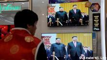 Xi Jinping in Nordkorea