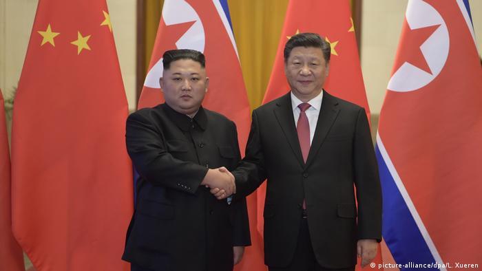 Кім Чен Ин та Сі Цзіньпін