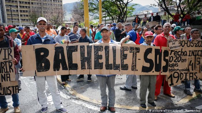 La expresidenta de Chile, quien fue torturada por la policía política del dictador chileno Augusto Pinochet en la década de 1970, visitó Caracas entre el 19 y el 21 de junio.