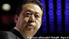 Meng Hongwei (picture-alliance/AP Photo/W. Maye-E)