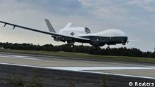 The MQ-4C Triton Drohne USA (Reuters)