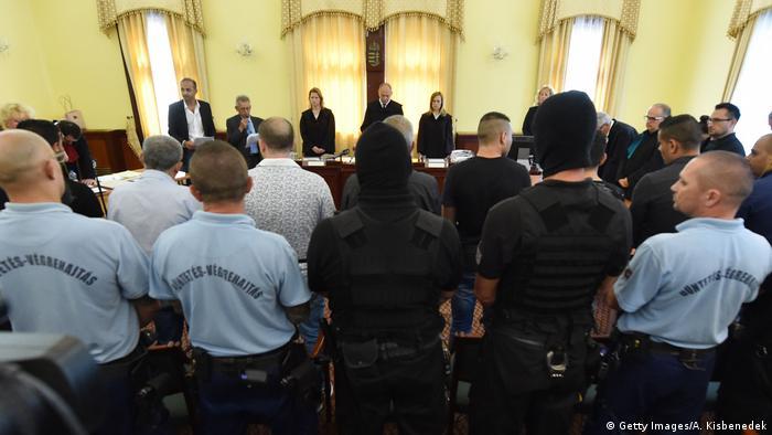 Ungarn Prozess Schlepper Flüchtlinge Kühllaster