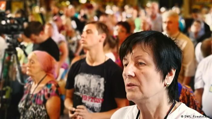 На собор Філарета прийшло до двох сотень людей