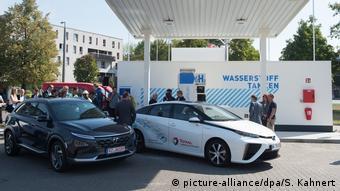 Заправка для водородных автомобилей в Дрездене