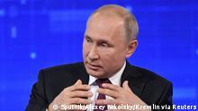 Russland   Präsident Putin   TV   Rede