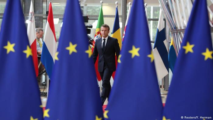 EU-Gipfel   Brüssel   Emmanuel Macron