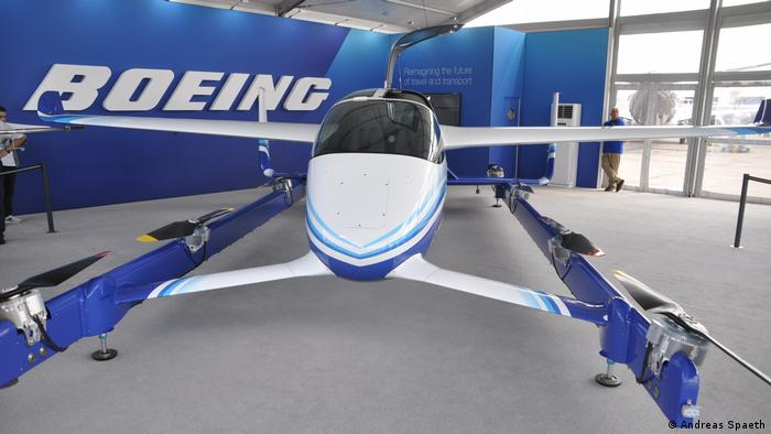 Luftfahrtmesse Le Bourget | Elektro-Flugtaxi Boeing (Andreas Spaeth)