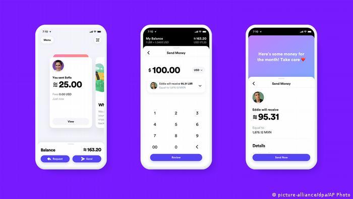 Facebook-Digital Currency   Calibra digital wallet app
