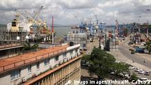 Kenia Hafen in Mombasa