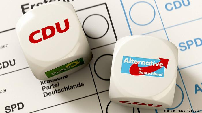 CDU and AFD logos