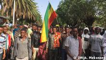 Äthiopien Demonstration in Bahir Dar
