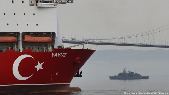 Türkei | Türkisches Bohrschiff Yavuz