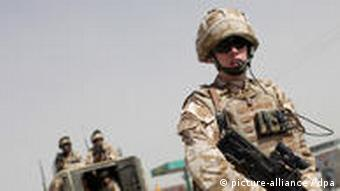 Britische Truppen in Kabul (Foto: picture alliance/dpa)