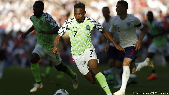 Nigeria Fußball-Nationalmannschaft, Ahmed Musa (Getty Images/AFP/I. Kington)
