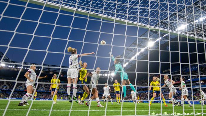 FIFA Frauen-WM 2019 | USA - Schweden (picture-alliance/Zuma Press/M. Smith)