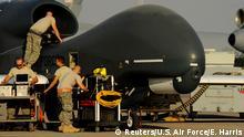 USA Spannungen mit dem Iran | Drohne RQ-4A Global Hawk