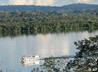 Rio Tapajós, na região da floresta amazônica