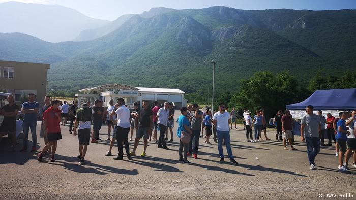 Bosnien Herzegowina Müllprobleme in Mostar (DW/V. Soldo)
